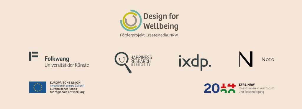 Wellbeing as a starting point for design